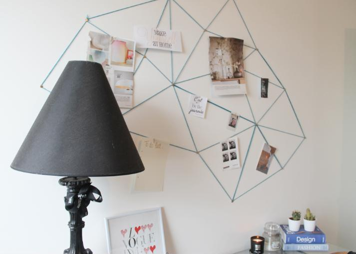 GEOMETRIC MOOD BOARD.